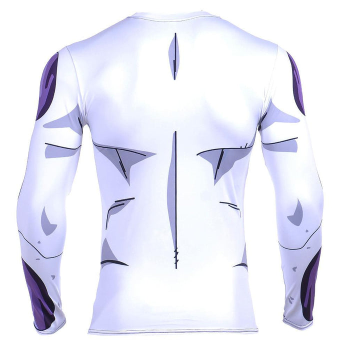 Classic Frieza Form Workout Fitness Long Sleeves Compression T-shirt