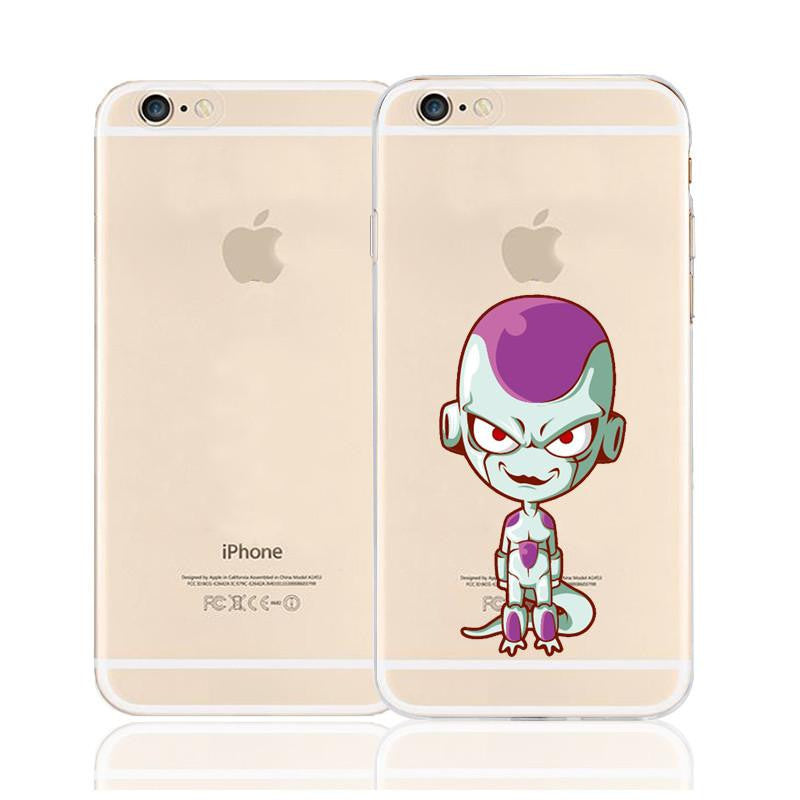 Cute Evil Frieza Supreme Villain Character Back Cover for iPhone 6 6s Plus