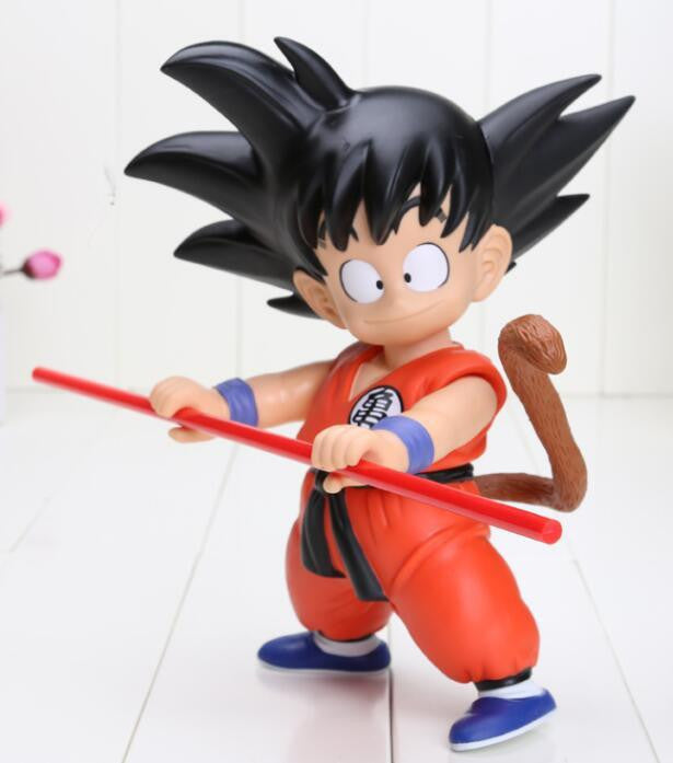 Cute Kid Young Goku New Dragon Ball Toy Action Figure 21cm - Saiyan Stuff - 2
