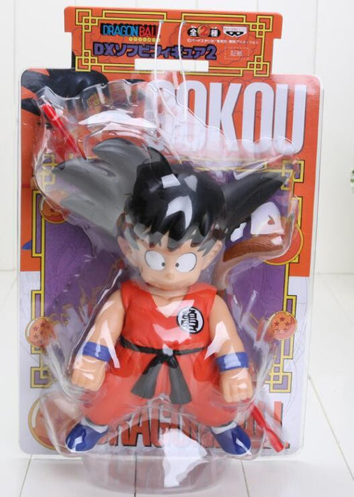 Cute Kid Young Goku New Dragon Ball Toy Action Figure 21cm - Saiyan Stuff