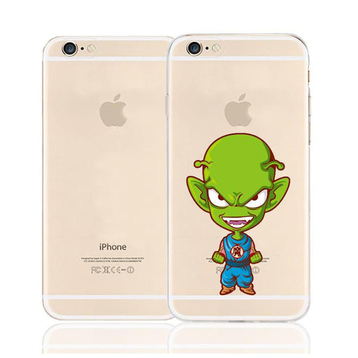 Cute Laughing Piccolo Namekian Character Back Cover for iPhone 6 6s Plus