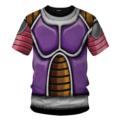 Dragon Ball Z Frieza Classical Body Armor Cosplay T-Shirt
