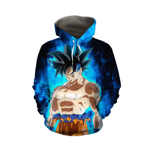Dragon Ball Super Goku Kaioken Ultra Instinct Cool Hoodie
