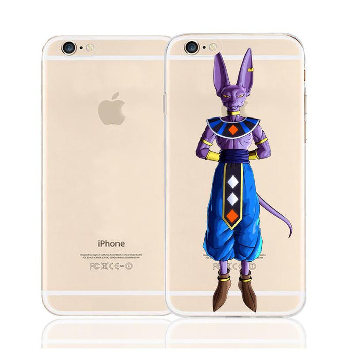 DBZ Beerus Xenoverse Destruction God Character Back Cover for iPhone 6 6s Plus