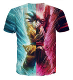 DBZ Black Goku Kakarot Spirit Bomb Destruction Streetwear Design T-Shirt