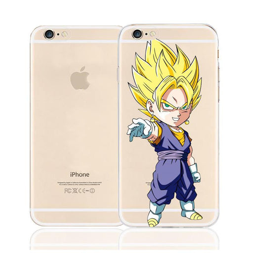 DBZ Cute Chibi Vegito Fusion Saiyan Character Back Cover for iPhone 6 6s Plus