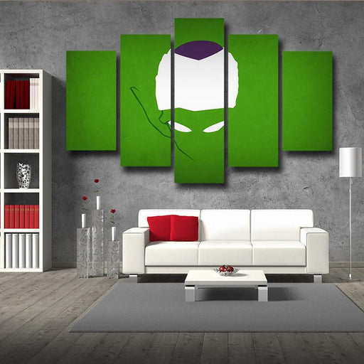 DBZ Evil King Piccolo Urban Minimalist Interior 5pc Canvas Prints Wall Art