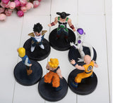 DBZ Figure Set 6pcs 5' Goku Bardock Vegeta Android 18 Krillin Frieza -  - 4
