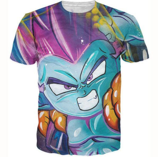 DBZ Fusion Dance Gotenks Goten Trunks 3D T-Shirt - Saiyan Stuff