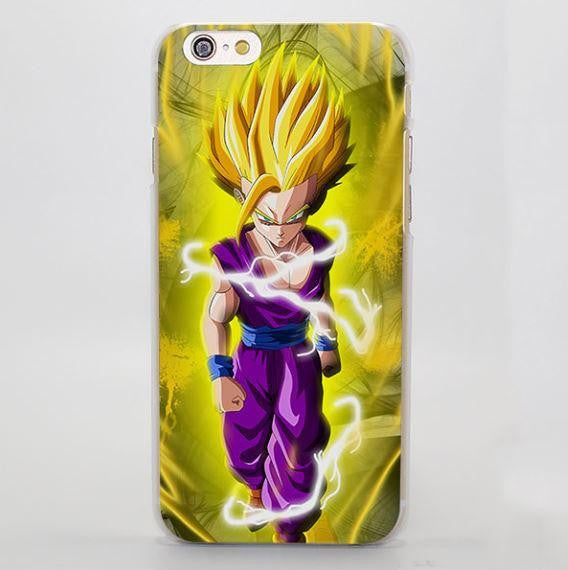 DBZ Gohan Kid Super Saiyan Power Walk iPhone 4 5 6 7 Plus Case