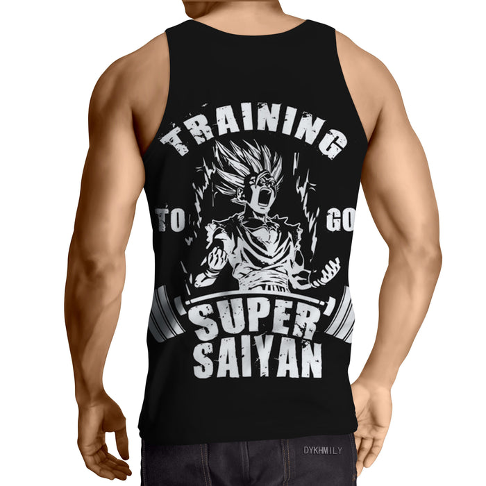 DBZ Gohan Kid Super Saiyan Training Motivation Tank Top