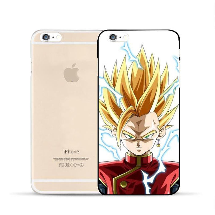 DBZ Gohan Super Saiyan Fusion Kami Uniform Cool PC iPhone 5 6 7 s Plus Case