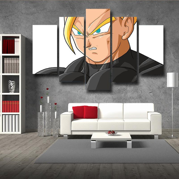 DBZ Gohan Super Saiyan 5pc Wall Art Decor Posters Canvas Prints
