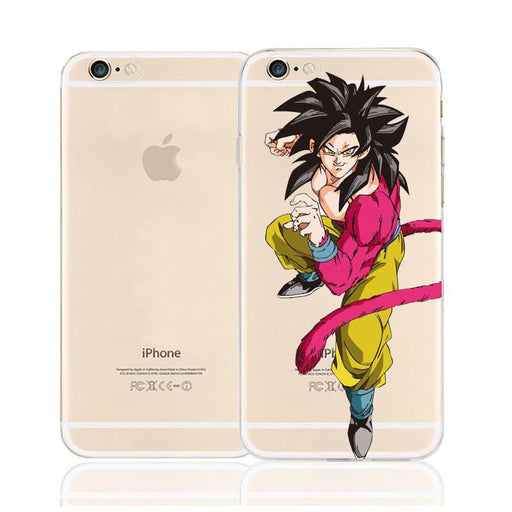 DBZ Goku Super Saiyan SSJ4 Monkey Character Back Cover for iPhone 6 6s Plus