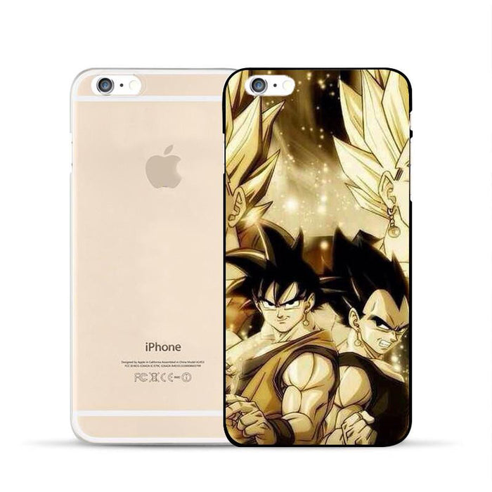 Dragon Ball Goku Vegeta Potara Fusion Super Saiyan iPhone 5 6 7 s Plus Case