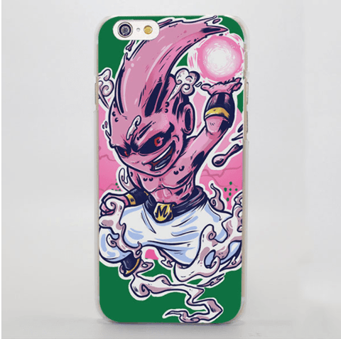 DBZ Kid Buu Energy Ball Chibi Art Syle Decal Skin iPhone 4 5 6 7 Plus Case