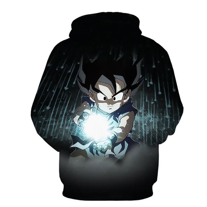 DBZ Kid Goku Rage Greatest Super Kamehameha Full Print Cool Hoodie