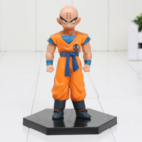 DBZ Super Krillin Kulilin Pernicious Ready To Fight PVC Figure Toy 11cm - Saiyan Stuff - 1