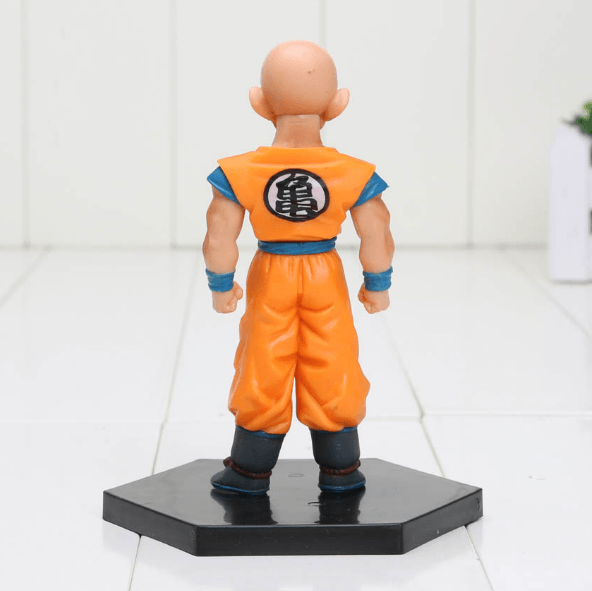 DBZ Super Krillin Kulilin Pernicious Ready To Fight PVC Figure Toy 11cm - Saiyan Stuff - 3