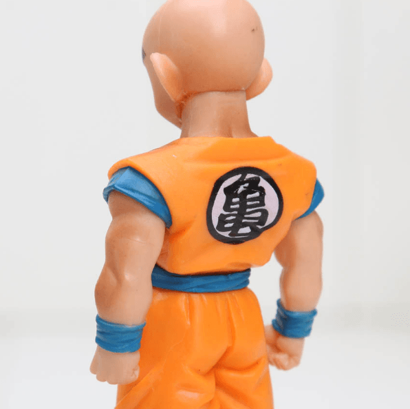 DBZ Super Krillin Kulilin Pernicious Ready To Fight PVC Figure Toy 11cm - Saiyan Stuff - 4