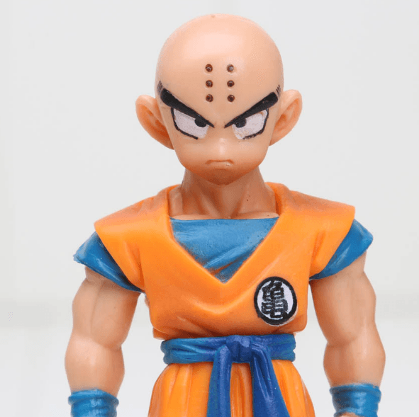 DBZ Super Krillin Kulilin Pernicious Ready To Fight PVC Figure Toy 11cm - Saiyan Stuff - 6