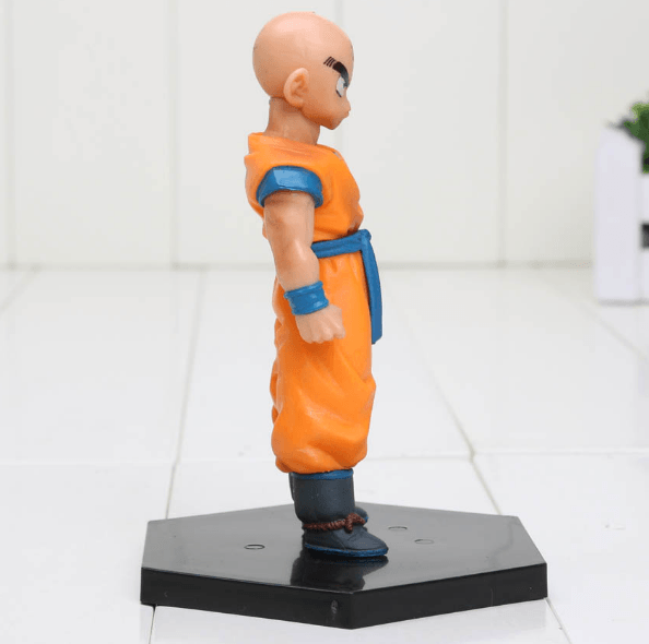 DBZ Super Krillin Kulilin Pernicious Ready To Fight PVC Figure Toy 11cm - Saiyan Stuff - 2