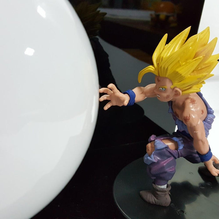 DBZ Super Saiyan Son Gohan Battle Kamehameha Kaioken DIY Lamp - Saiyan Stuff