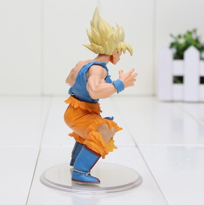 DBZ Super Saiyan Son Goku SSJ1 Dragon Wild Styling Action Figure 10cm - Saiyan Stuff - 2