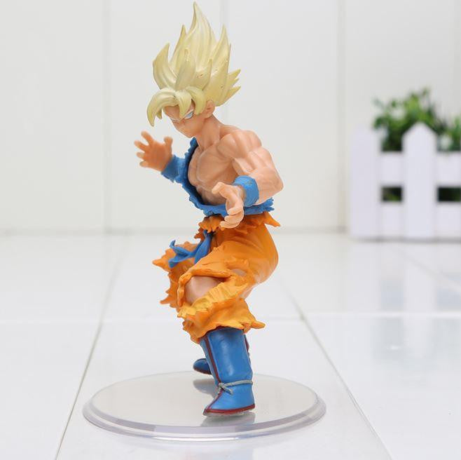 DBZ Super Saiyan Son Goku SSJ1 Dragon Wild Styling Action Figure 10cm - Saiyan Stuff - 3