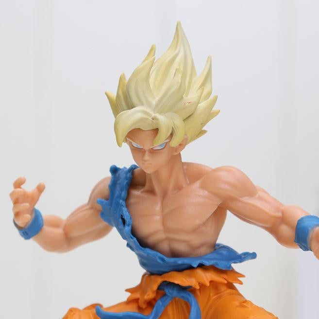 DBZ Super Saiyan Son Goku SSJ1 Dragon Wild Styling Action Figure 10cm - Saiyan Stuff - 5