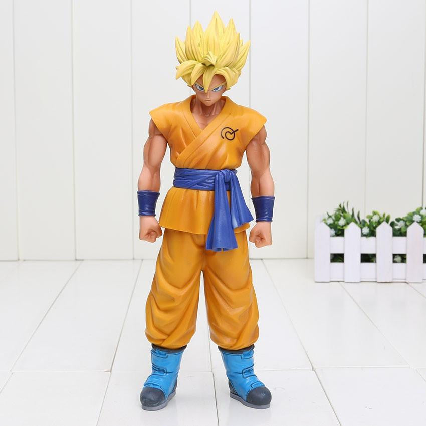 DBZ Super Saiyan Son Goku Yellow Hair Resurrection F PVC Action Figure 26cm - Saiyan Stuff - 1
