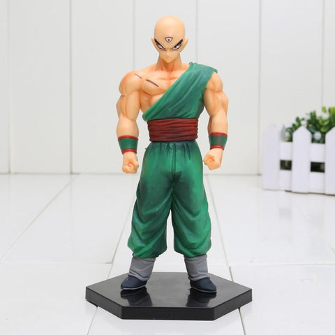 DBZ Tenshinhan Three-Eyed Clan Goku Rival Powerful Action Figure 15cm - Saiyan Stuff - 1