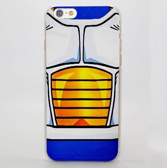 DBZ Vegeta Battle Armor Anime Theme Design iPhone 4 5 6 7 Plus Case