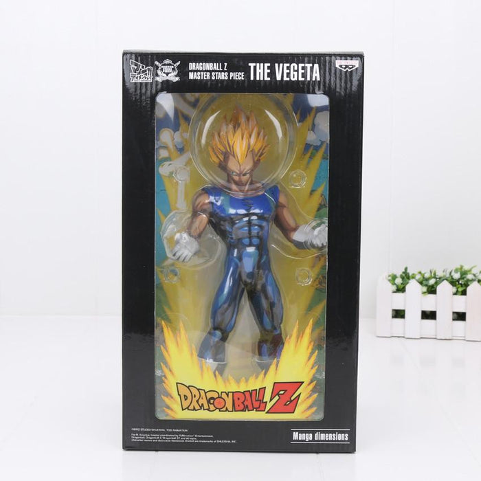 DBZ Vegeta Super Saiyan Power Ready Fighting Action Figure 26cm - Saiyan Stuff - 2