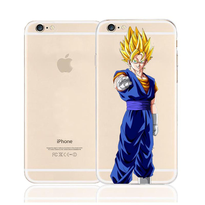 DBZ Vegeto Super Saiyan Fusion Character Back Cover for iPhone 6 6s Plus