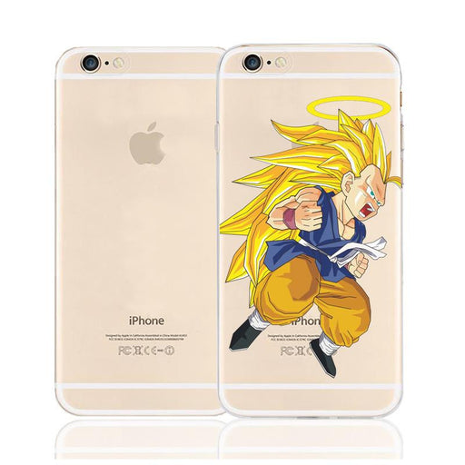 DBZ Vegito Super Saiyan SSJ3 Angel Character Back Cover for iPhone 6 6s Plus