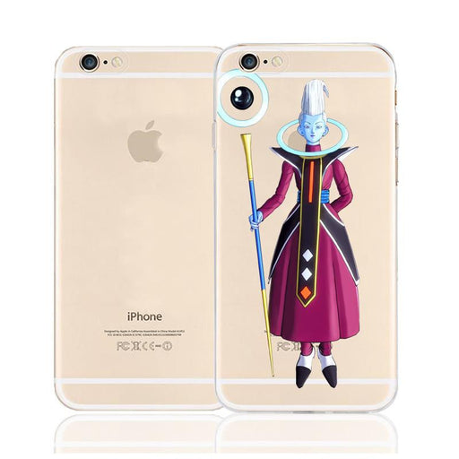 DBZ Whis Xenoverse Angel Character Back Cover for iPhone 6 6s Plus