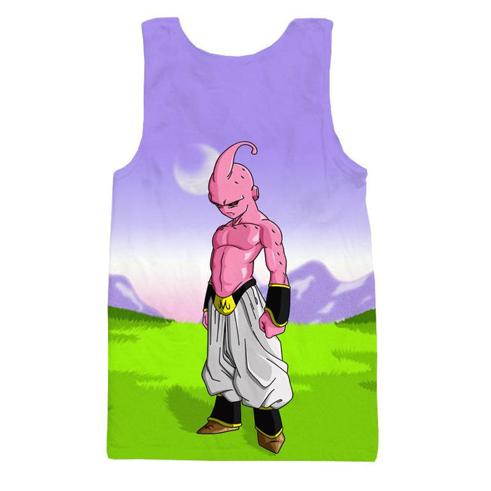 Dangerous Kid Majin Buu Dragon Ball Z Final Villain Tank Top - Saiyan Stuff