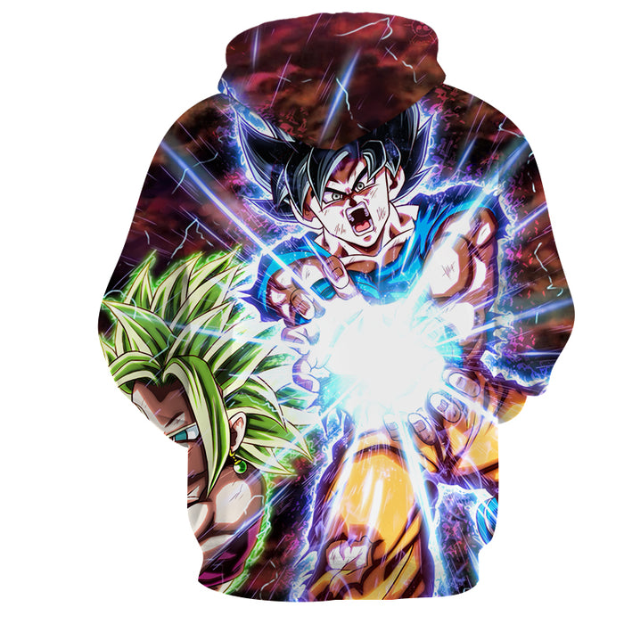 Dragon B Z Son Goku Powerful Kamehameha Released Hoodie