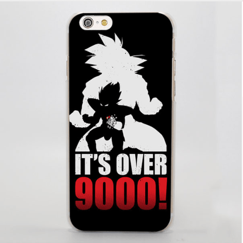 Dragon Ball Goku Vegeta Over 9000 Legendary Part Cool iPhone 4 5 6 7 Plus Case