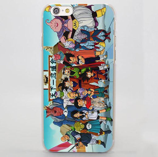 Dragon Ball All Fighter Gather Vibrant Design iPhone 4 5 6 7 Plus Case