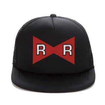 Dragon Ball Android 13 Red Ribbon Logo Cool Trucker Hat