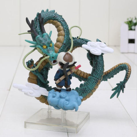Dragon Ball Anime Kid Goku Clouds Shenron Museum Collection Figure - Saiyan Stuff - 1
