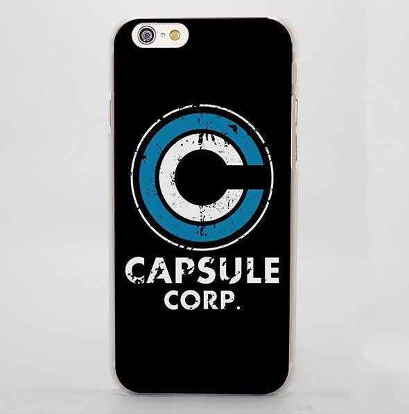 Dragon Ball Capsule Corp iphone case
