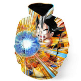 Dragon Ball Cute Goku Kid Kamehameha Awesome Trending Design Hoodie