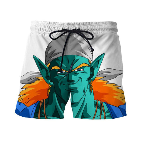 Dragon Ball Dope Handsome Piccolo Green Man Short Pants - Saiyan Stuff - 1