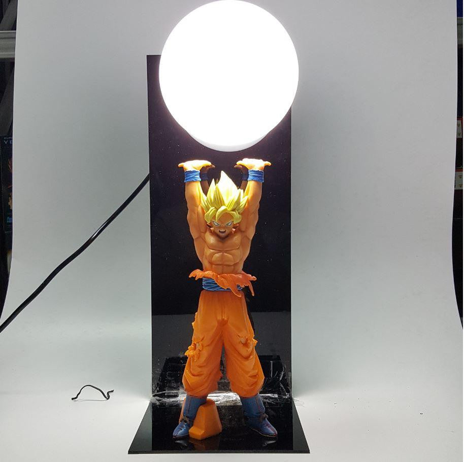 Dragon Ball Genki Dama Spirit Bomb Super Saiyan Son Goku DIY Lamp - Saiyan Stuff - 1