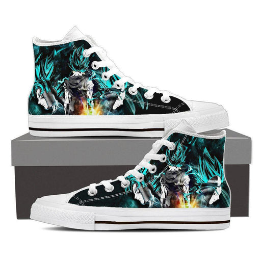 ab5866f6233 Dragon Ball Super DBZ Custom Converse Shoes   Sneakers - Footwear ...