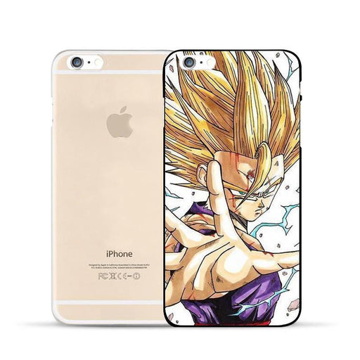 Dragon Ball Gohan Super Saiyan Kid  Thunder Power Cool Design Hard PC iPhone 5 6 7 s Plus Case