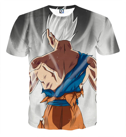 Dragon Ball Gohan White Super Saiyan Epic Streetwear T-Shirt